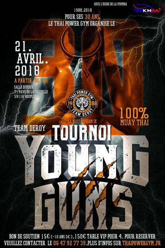 Young Guns : les tournois made in Deroy