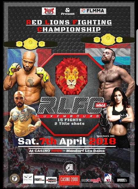 Red Lion Fighting Championship : La fight card définitive