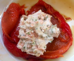 [cml_media_alt id='1360']Roast Peppers Rolls with Creamy Stuffing of Rice Milk Cheese and Vegan Ham - 4[/cml_media_alt]