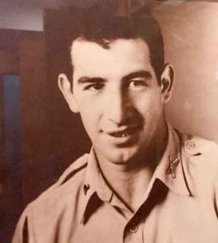 Captain Harold Edelson -- killed in action in the Phillipines, 2-3-1945