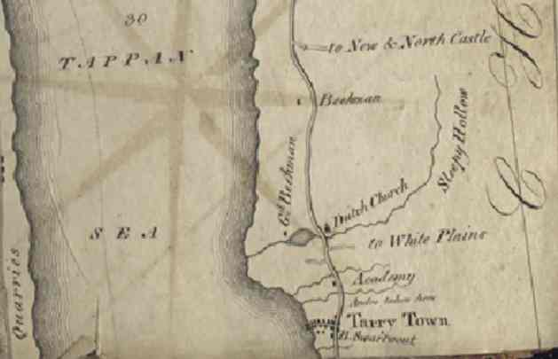 Goodrich 1820 map detail 2
