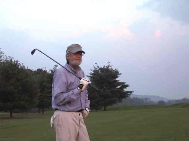 Jim Laird in his medium