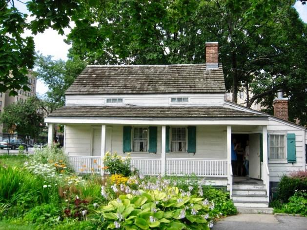 Poe cottage front