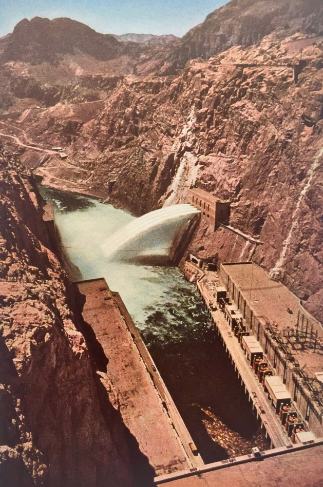 Hoover Dam power plant