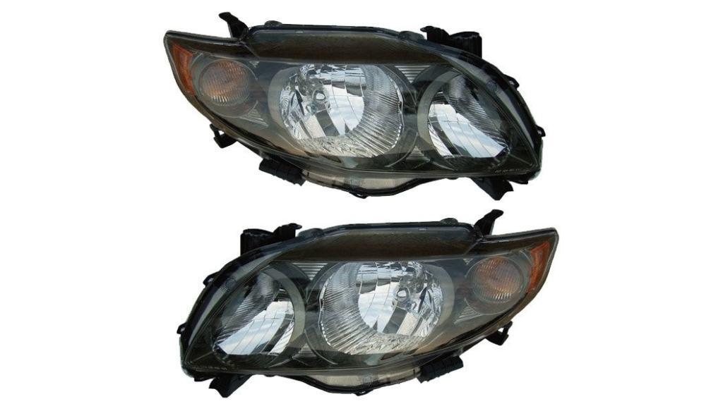 Halogen Headlights 2009-2010 Toyota Corolla XRS S