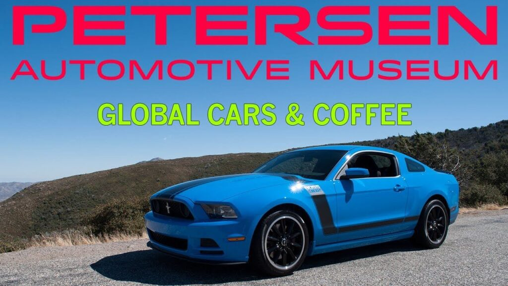 The Petersen Museum's Global Cars & Coffee