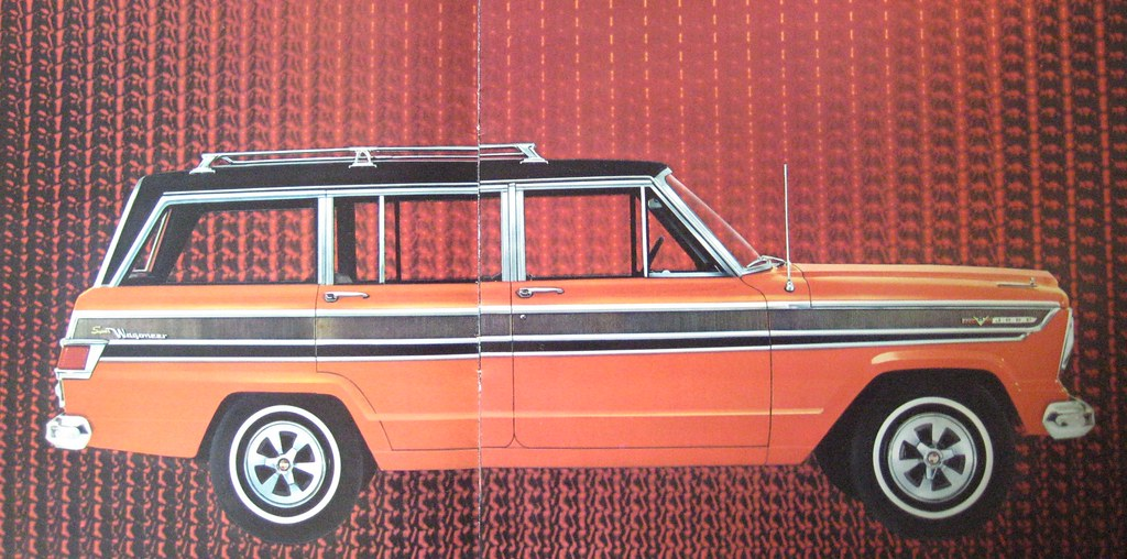 1966 Jeep Super Wagoneer Luxury SUV model