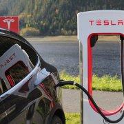 Tesla Electric Charging Station