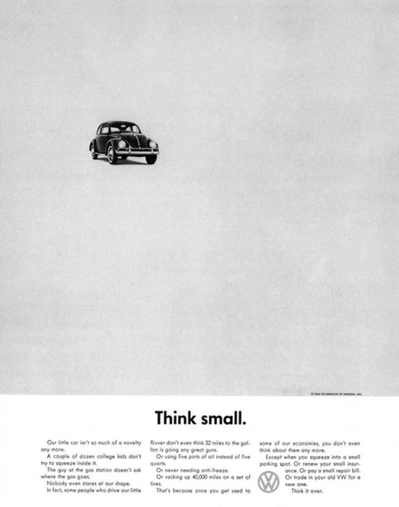 vw beetle leaflet vintage
