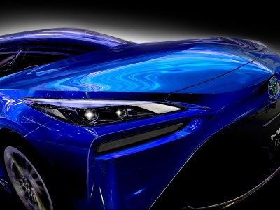 2021 Toyota Mirai Hydrogen Sedan in blue