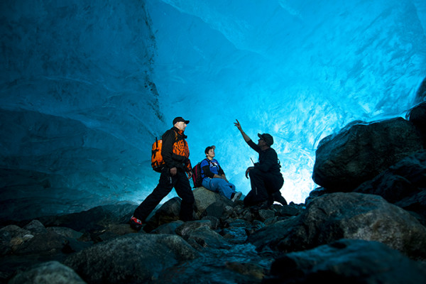 Ice Cave In Skaftafell Iceland