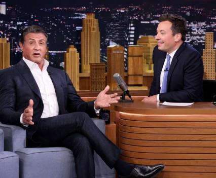 The Tonight Show Starring Jimmy Fallon - Sylvester Stallone, John Stamos, Shawn Mendes, Camila Cabello