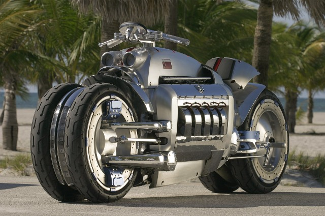 World Fastest Motorcycle-Dodge Tomahawk, 400 mph