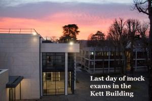 Kett building - January 2019 sunrise