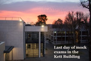 Kett building - January 2019 sunrise