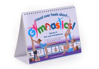Head Over Heels Gymnastics Books & Dvds are a great resource for budding gymnasts. With handy tips & tricks to achieving poses with perfect precision!