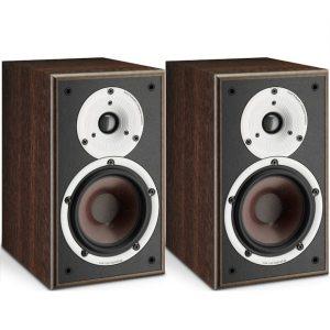 Dali SPEKTOR 2 Altavoces compactos con sonido HiFi nogal