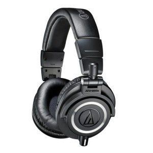 Audio Technica ATH-M50X Closed-back dynamic professional monitor headphones