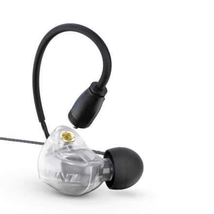 Brainwavz B400 Clear Frosty 4 Driver Hybrid Headphones