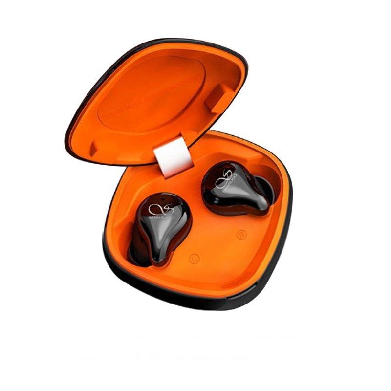 Shanling MTW100 Auriculares Bluetooth True Wireless inalámbricos negro BT