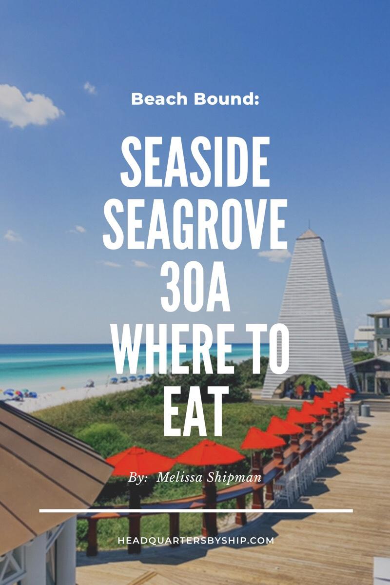 30A   Seagrove, FL
