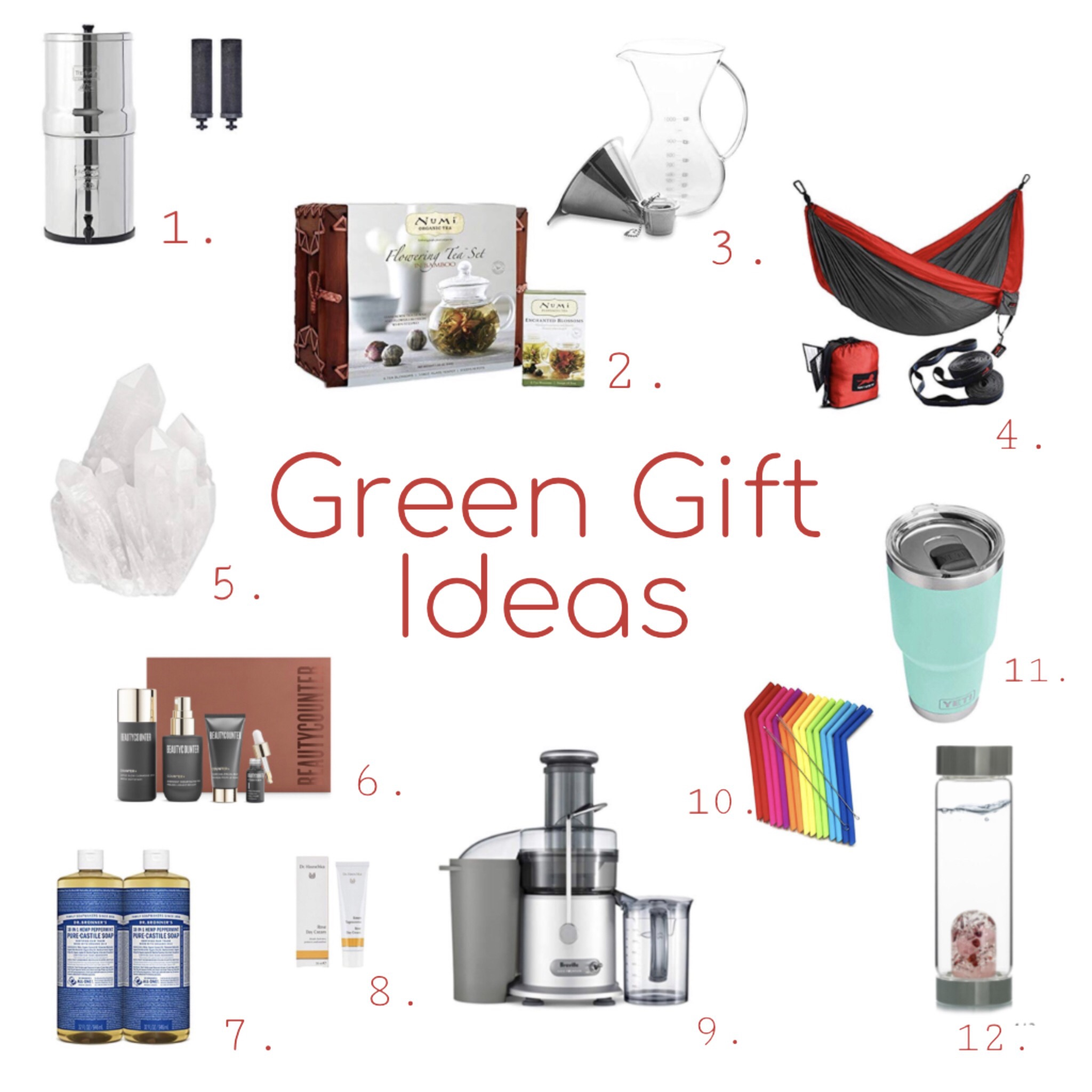 Gift Guide | Green and Low Waste Gifts