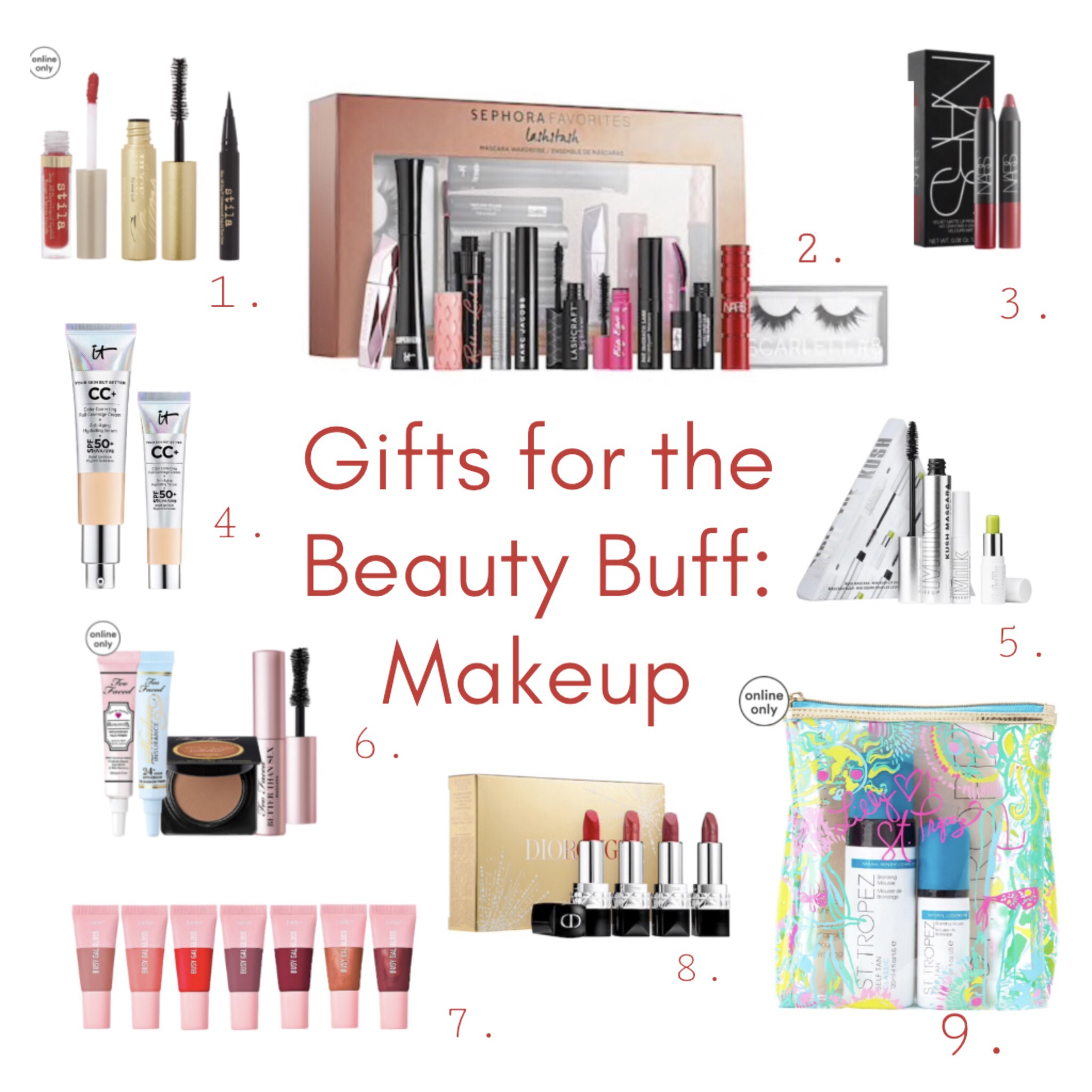 Gift Guide | Makeup Gift Sets They're Sure to Love