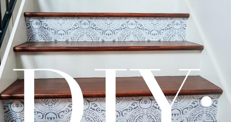Easy Home DIY | Stair Riser Update