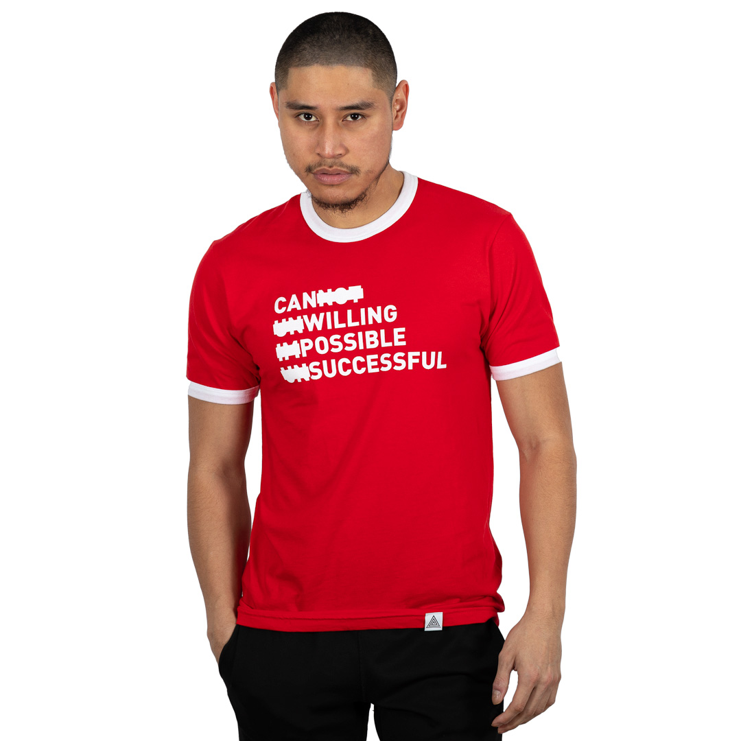 """Persistence"" Tee Red"
