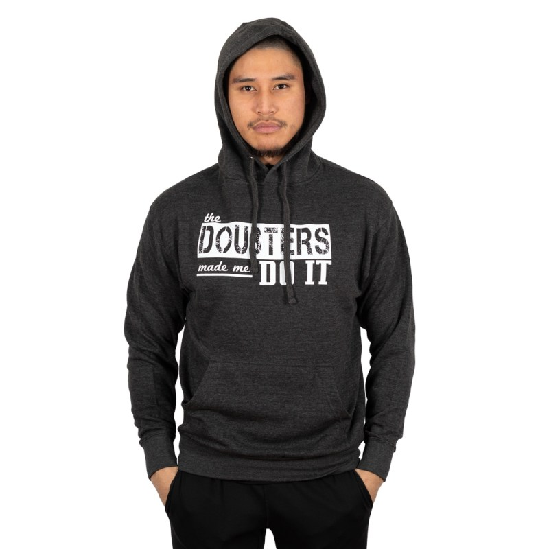 """Doubters"" Hoodie Charcoal Heather"