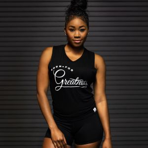 "WMNS ""Greatness"" Muscle Tank Black"