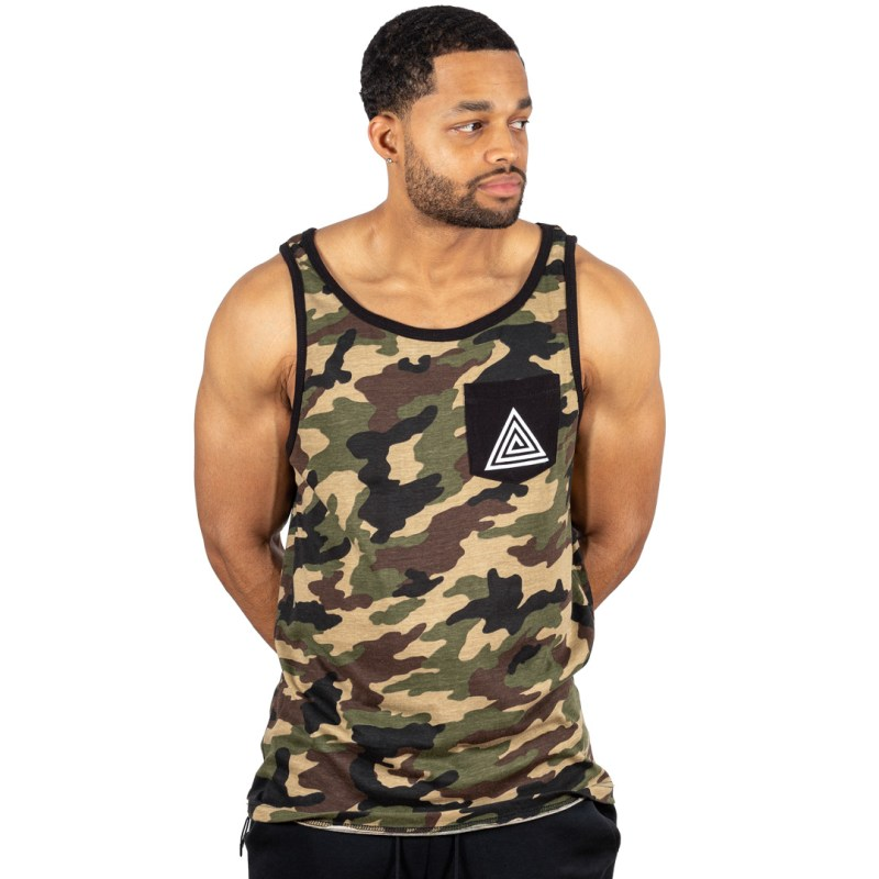 Army Logo Pocket Tank