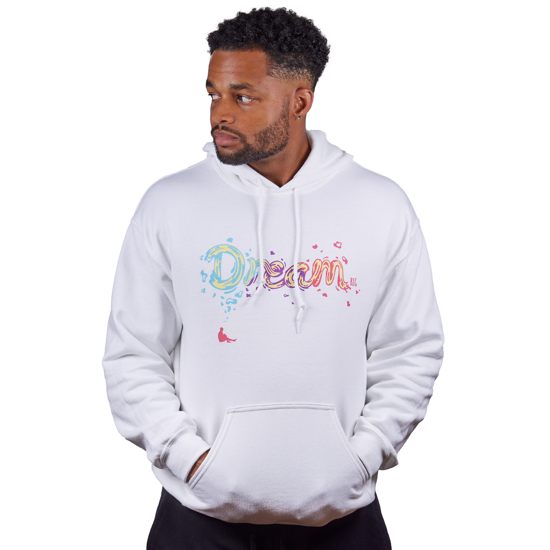 Unisex Dream BIG Hoodie White