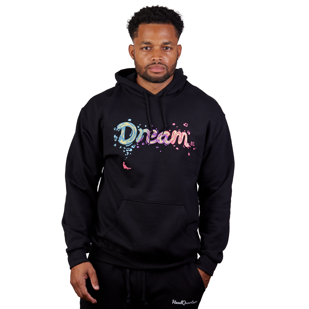 Unisex Dream BIG Hoodie Black