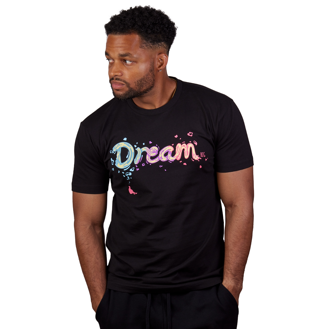 """Dream BIG"" Tee Black"