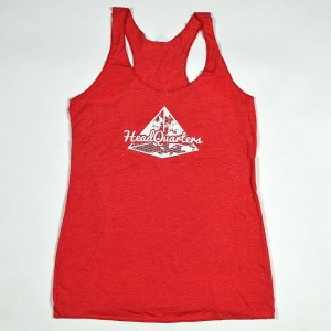 WMNS HeadQuarters Racerback Tank Vintage Red