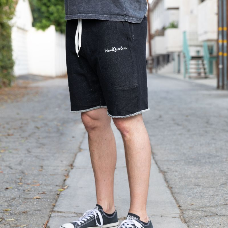 HeadQuarters Sweat Shorts Black Heather