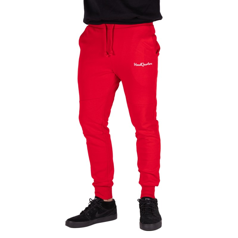 HeadQuarters Tech Fleece Joggers Red