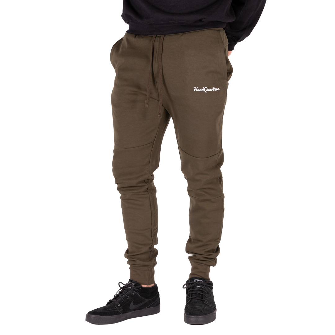 HeadQuarters Tech Fleece Joggers Olive