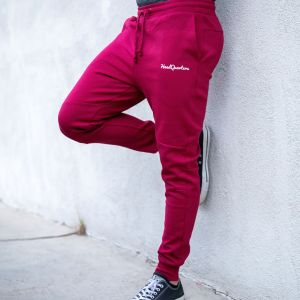 HeadQuarters Tech Fleece Joggers Burgundy