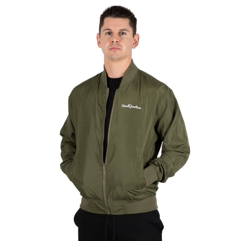HeadQuarters Lightweight Bomber Jacket Army