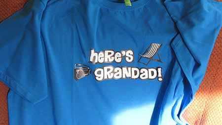 Here's Grandad Tshirt