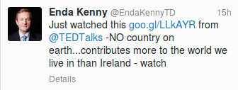 Kenny tweet