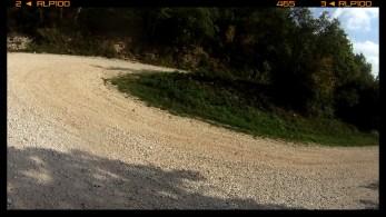 ausreichende Spitzkehren / winding track