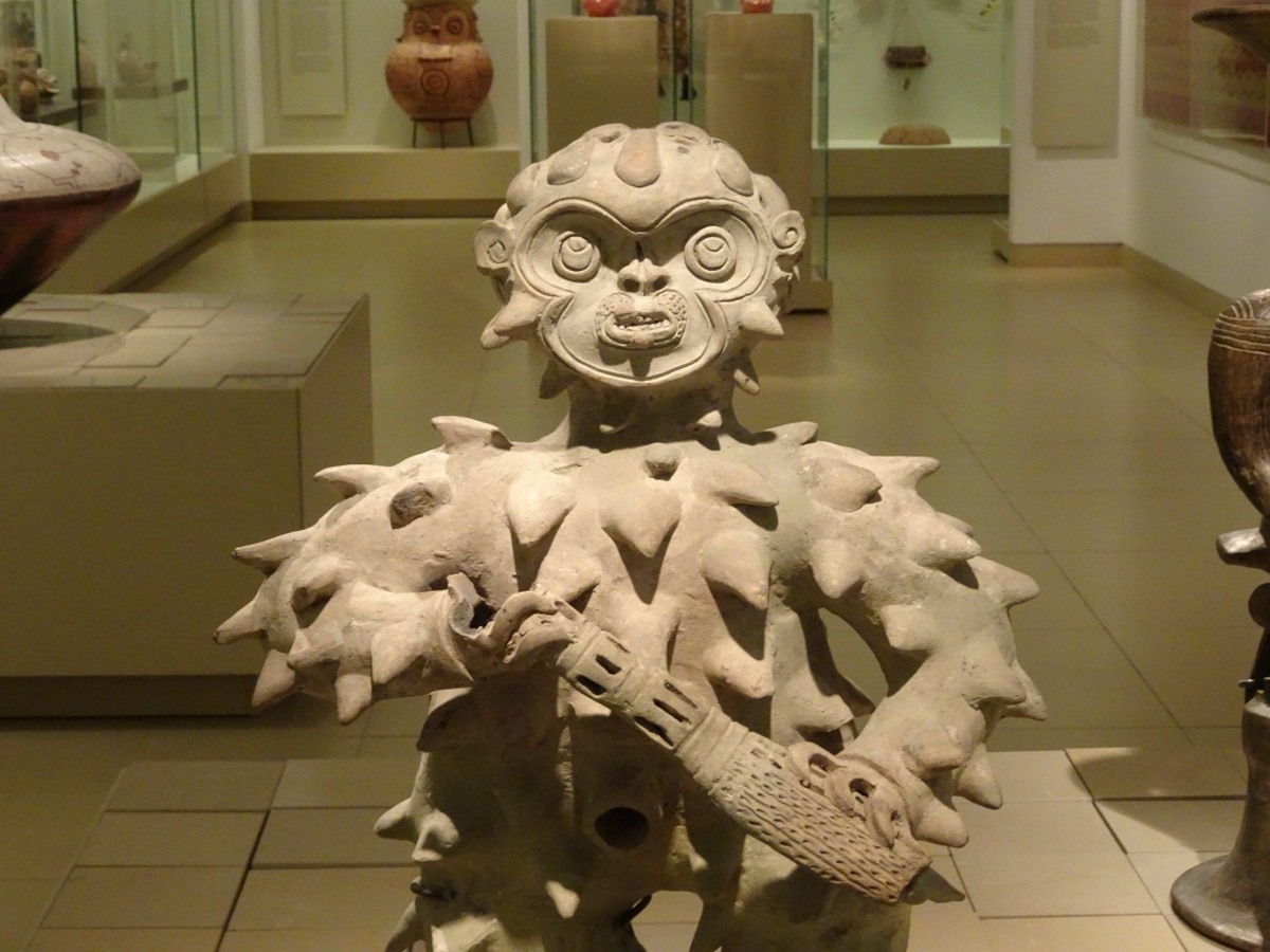 Pre-columbian art at the Israel museum