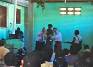 Our musicians entertain the congregation