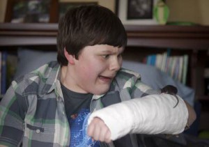 Wimpy Kid Actor Gets His Scare On Heads Up By Boys Life