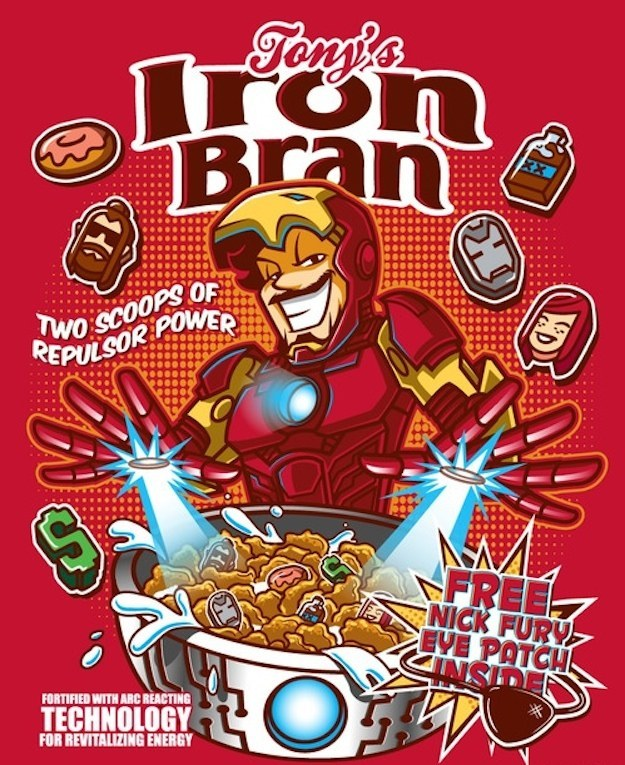 Celebrate National Cereal Day With Six Marvel Comics ...