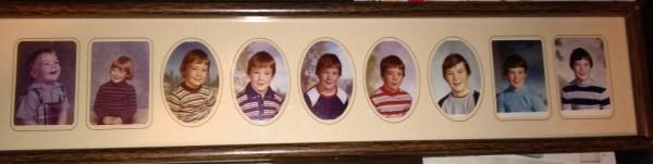 Jason's School Photos Through The Years