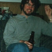 Age 25 - Having A Beer